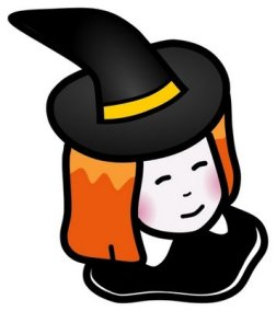 Little Witch clip art