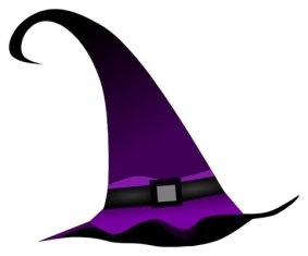 Purple Witch hat